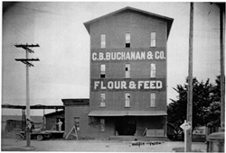 Old Buchanan Cellers Flour & Feed Mill