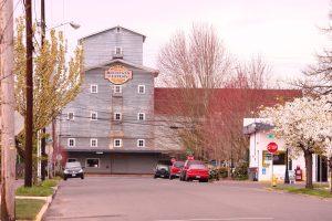 View of Buchanan Cellers building