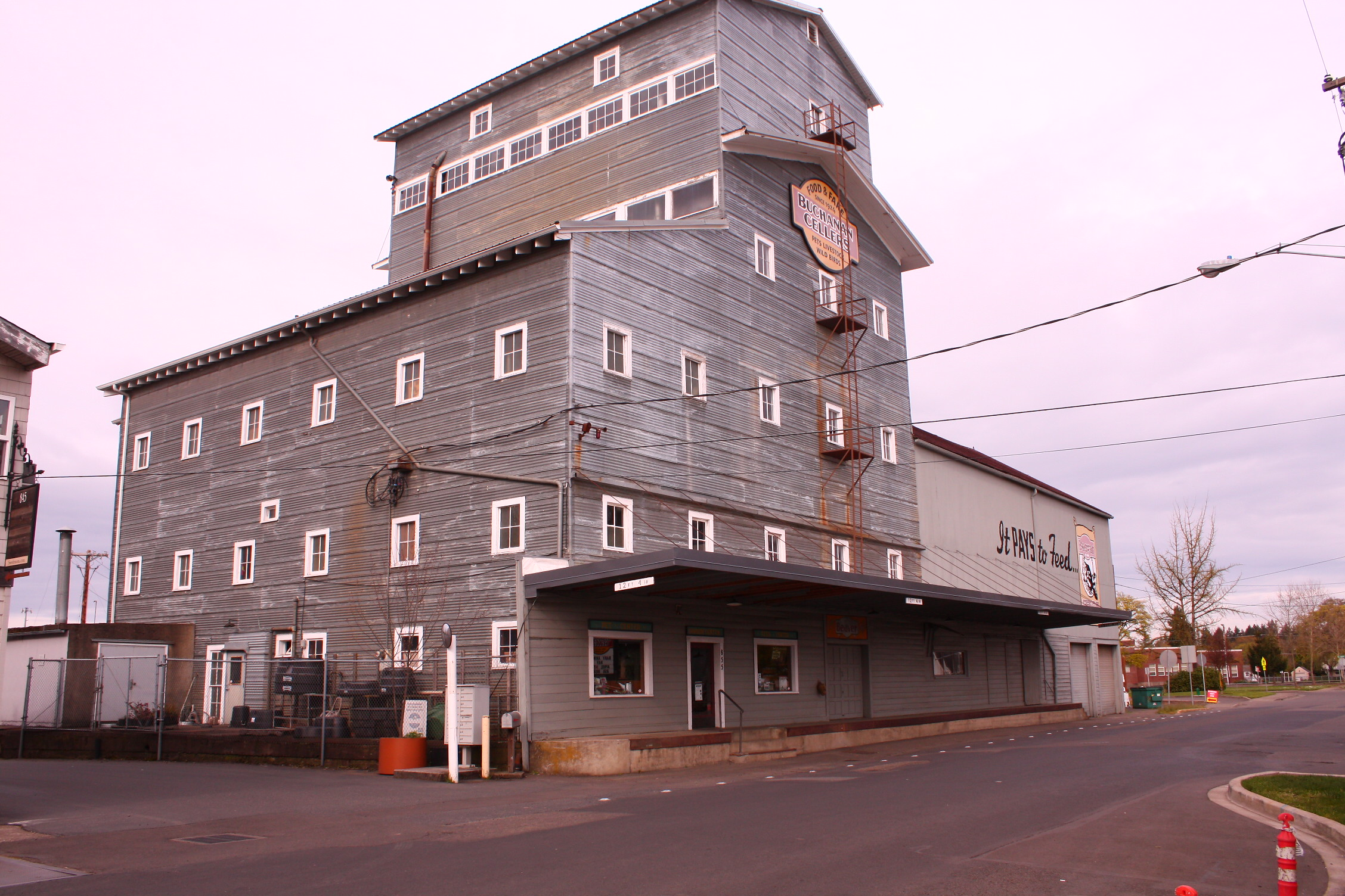 Historic Buchanan Cellers building
